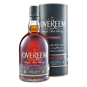 Overeem Port Cask Strength Matured Whisky 60% 700ml