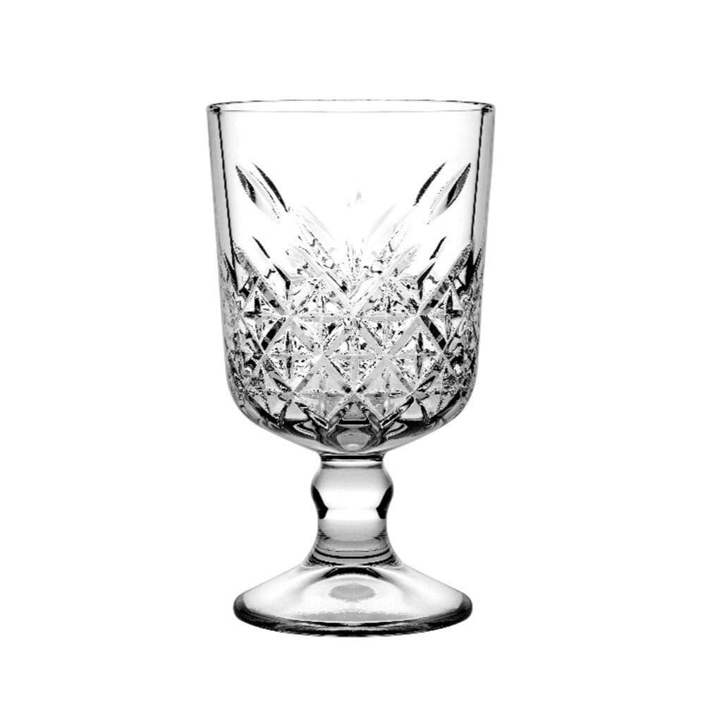 Pasabahce Timeless Goblet Glassware 320ml  - 12 Pack