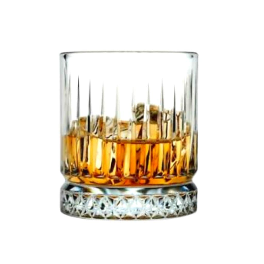 Pasabahce Elysia Whisky Tumbler Crystal Scotch Glasses 355 ml - 1 pack