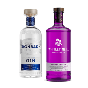 Whitley Neill Rhubarb & Ginger + Ironback Wattleseed Gin Bundle