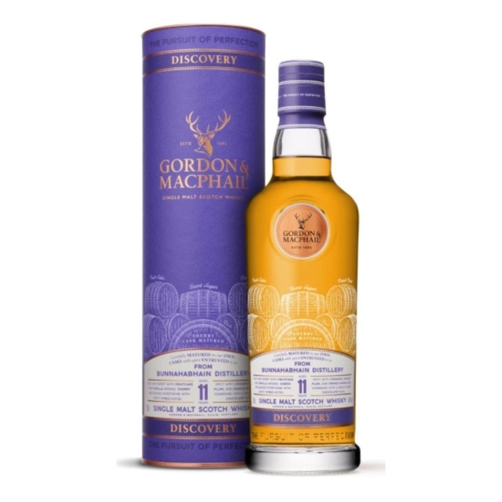 Gordon and MacPhail, Discovery - Sherry, Bunnahabhain 11YO 43% 700ml