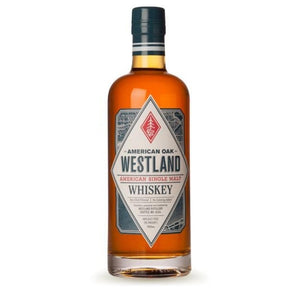 Westland American Oak Single Malt 46% 700ml bottle