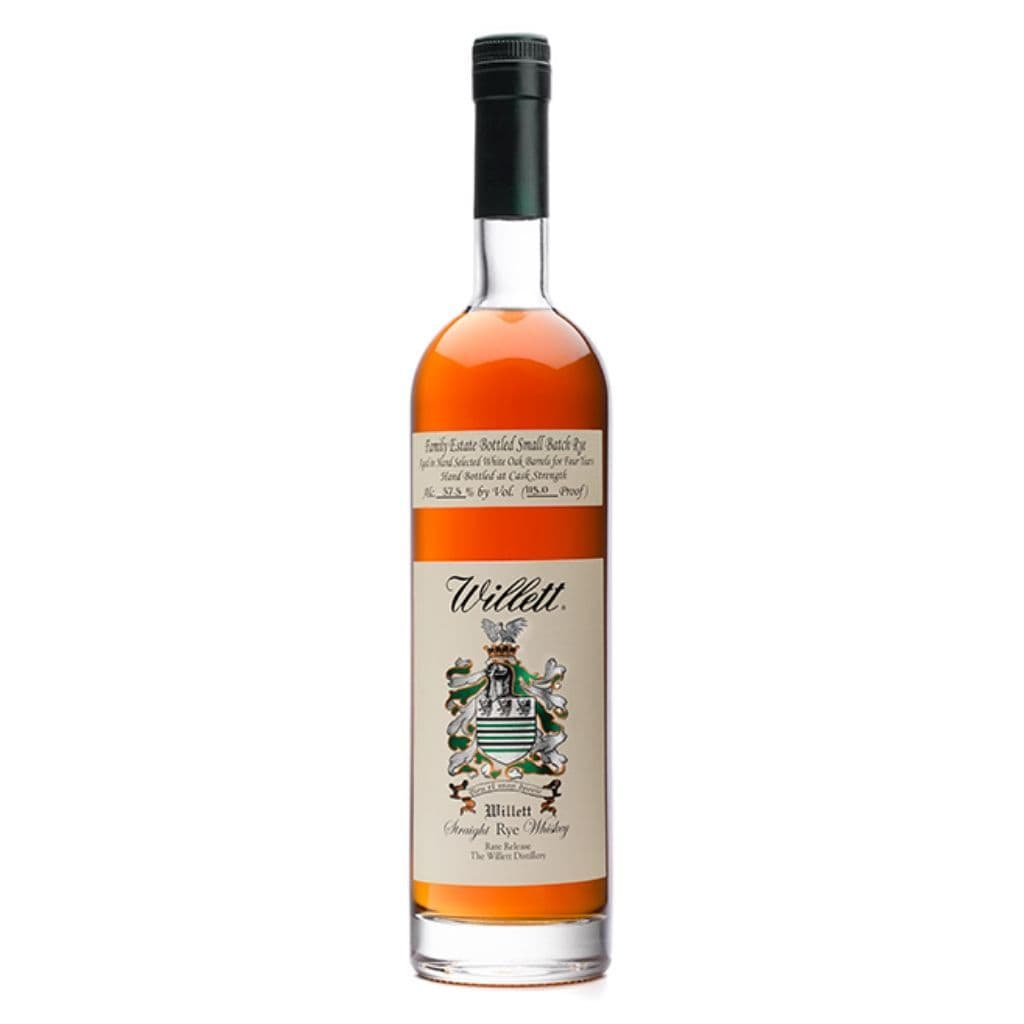 Willett Family Rye Whiskey 4 yrs Small Batch 55% 750ml