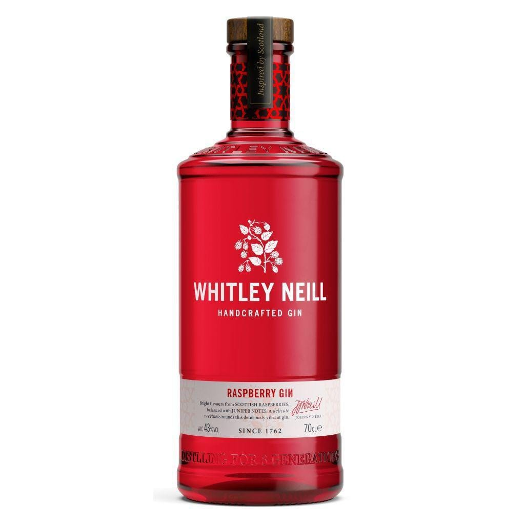 Personalised Whitley Neill Raspberry Gin 43% 700ml