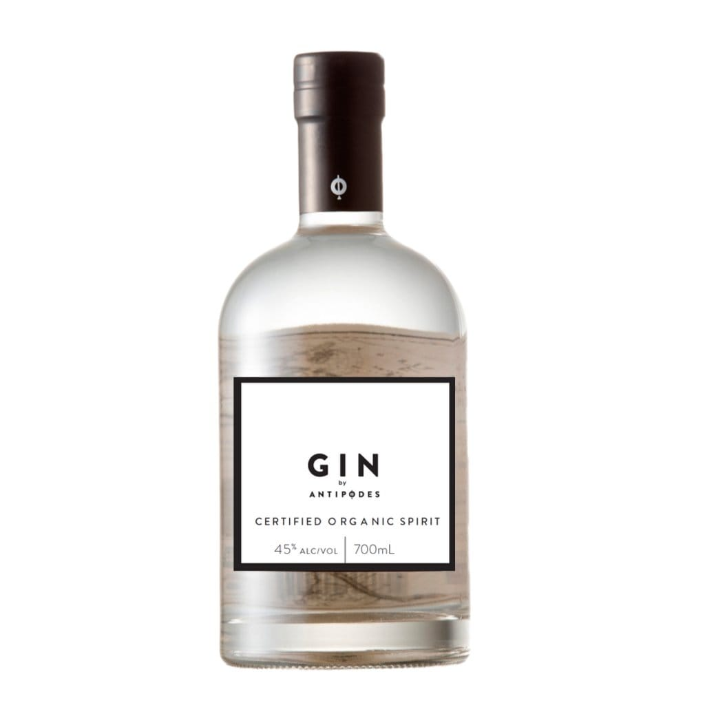 Personalised Antipodes Organic Gin 45% 700ml