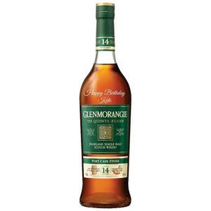 Personalised Glenmorangie The Quinta Ruban Single Malt Scotch Whisky