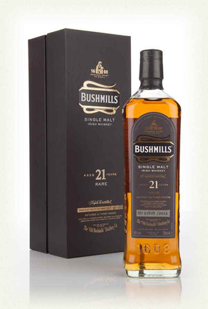 Bushmills 21 Year Old Irish Whiskey 40% 700ml