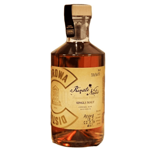 "Personalised Corowa ""Private Notes"" Sherry Cask 500ml 46%"