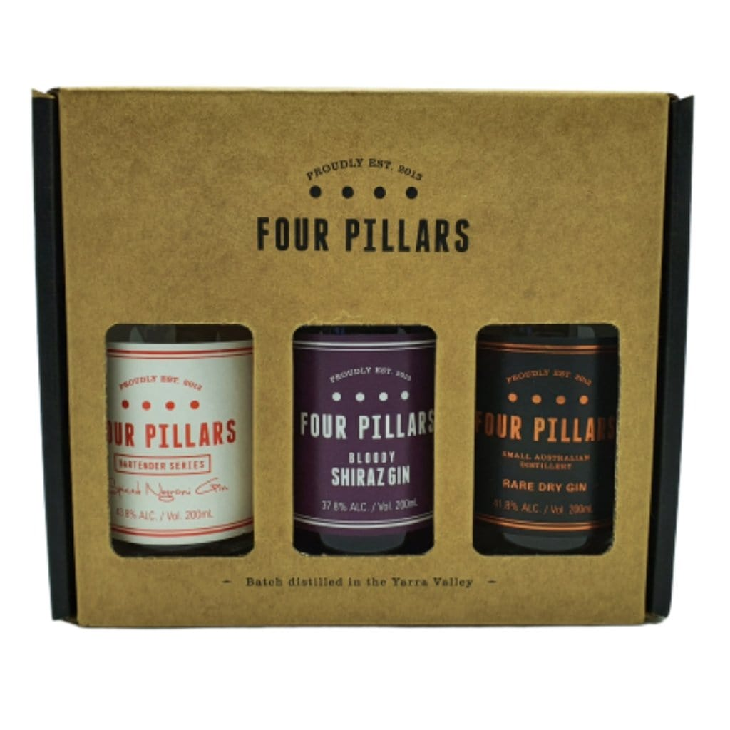 Four Pillars Gin Gift Pack 3x200ml