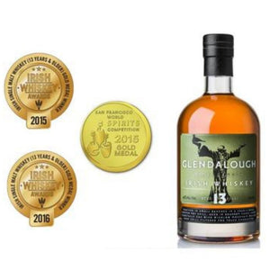 Glendalough 13YO Irish Whiskey 46% 750ml