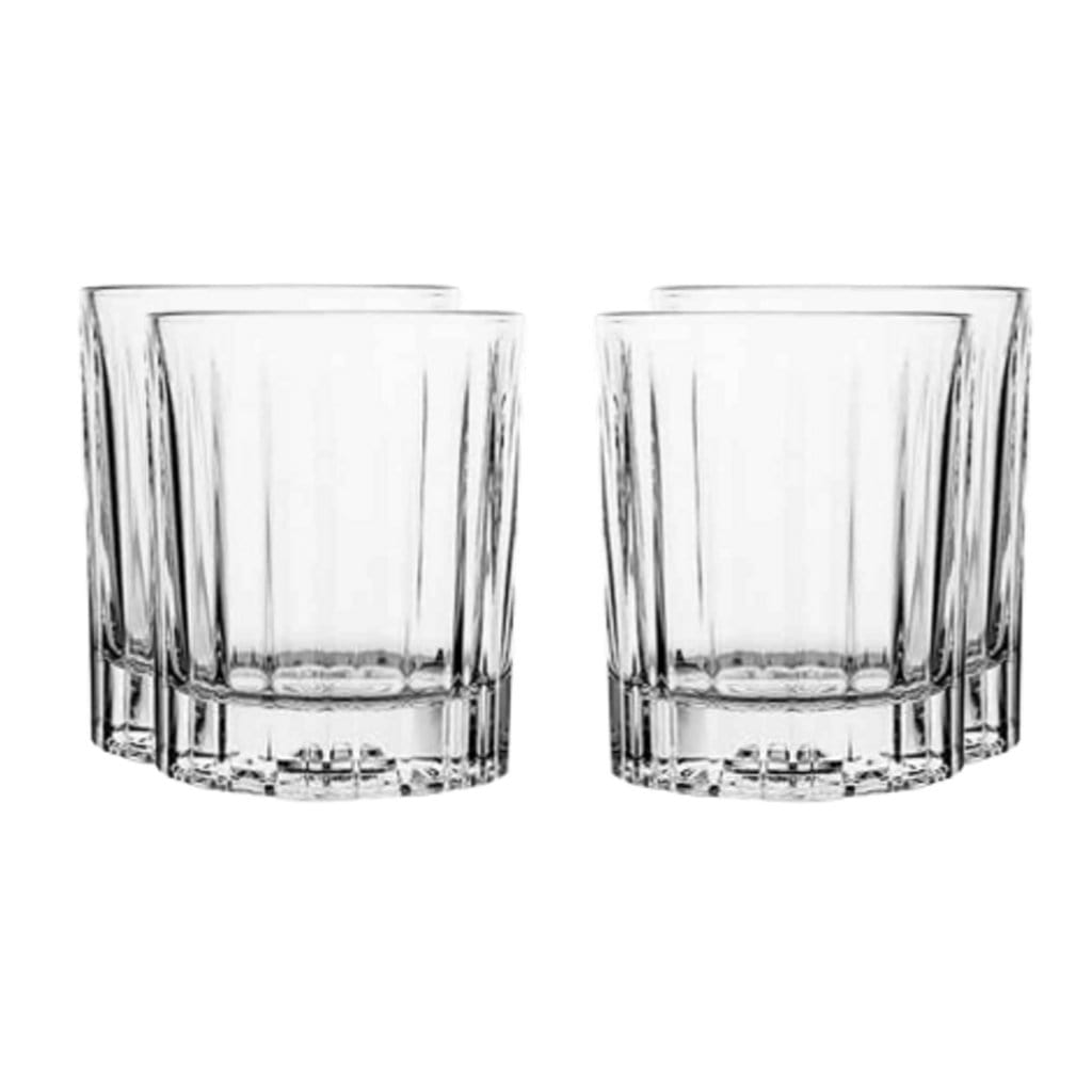 Libbey Double Old Fashioned Flashback Whisky Glass 355ml Set of 4