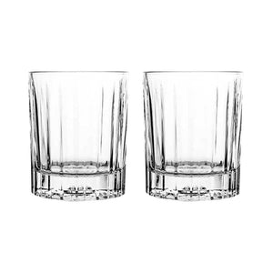 Libbey Double Old Fashioned Flashback Whisky Glass 355ml Set of 2