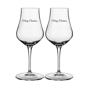 Personalised Luigi Bormioli Spirits Snifter Glasses - 2 Pack