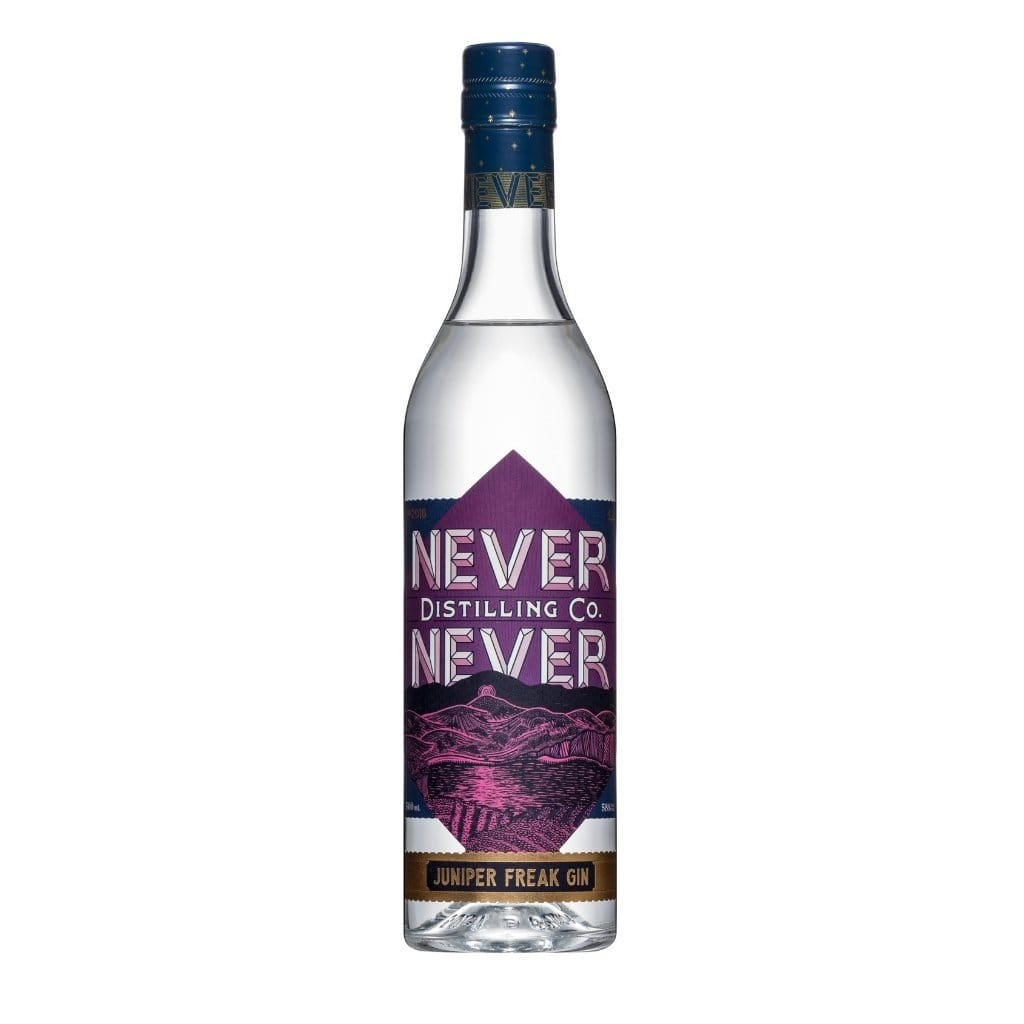 Never Never Distilling Co Juniper Freak Gin 52% 500ml