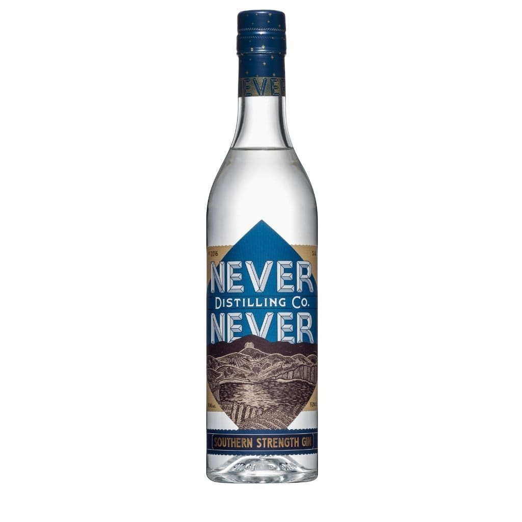 Never Never Distilling Co Southern Strength Gin 52% 500ml