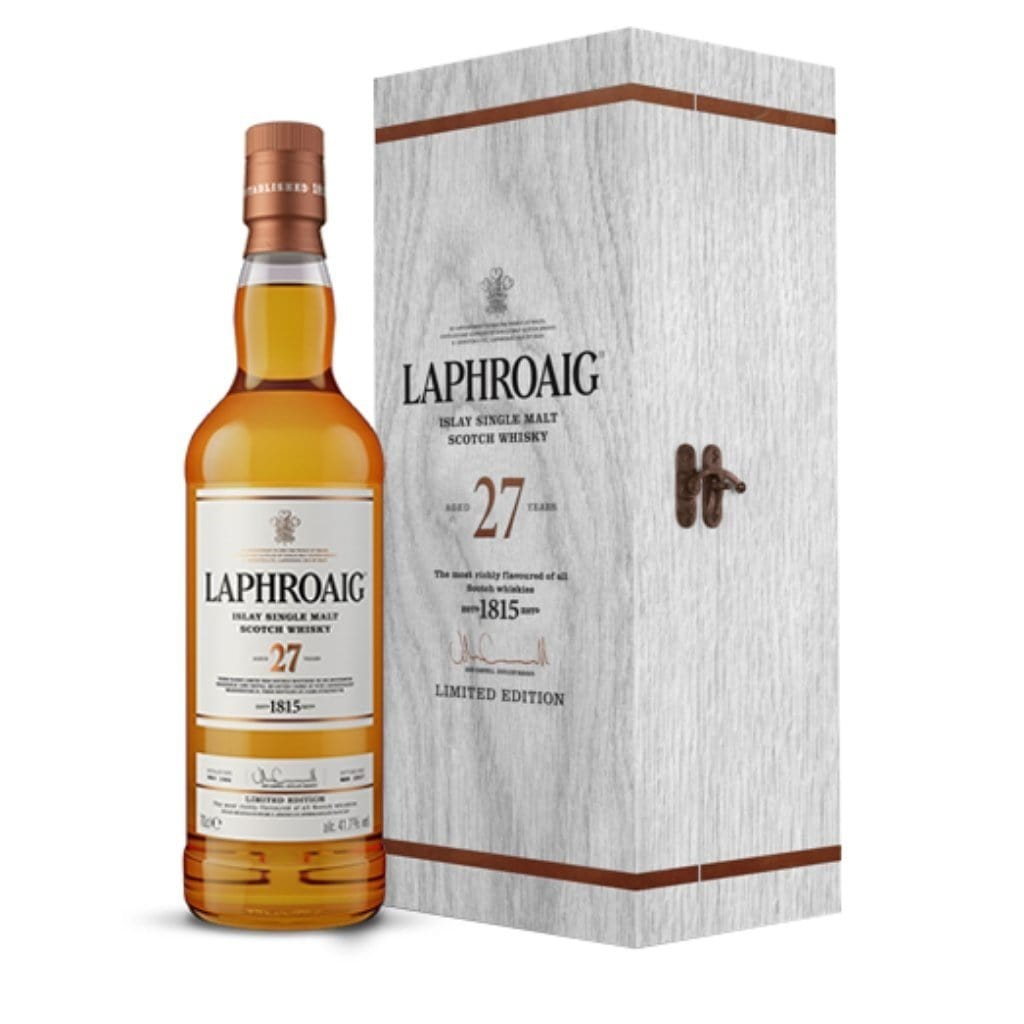 Laphroaig 27 Year Old 41.7% 700ml Limited Edition