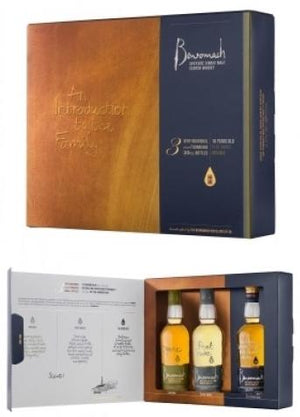 Benromach Single Malt Scotch Whisky (3x200ml) Trio Case Gift Pack