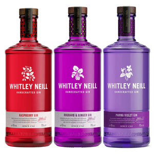 Personalised Whitley Neill 3 Pack - Ginger & Rhubard + Raspberry + Parma Violet