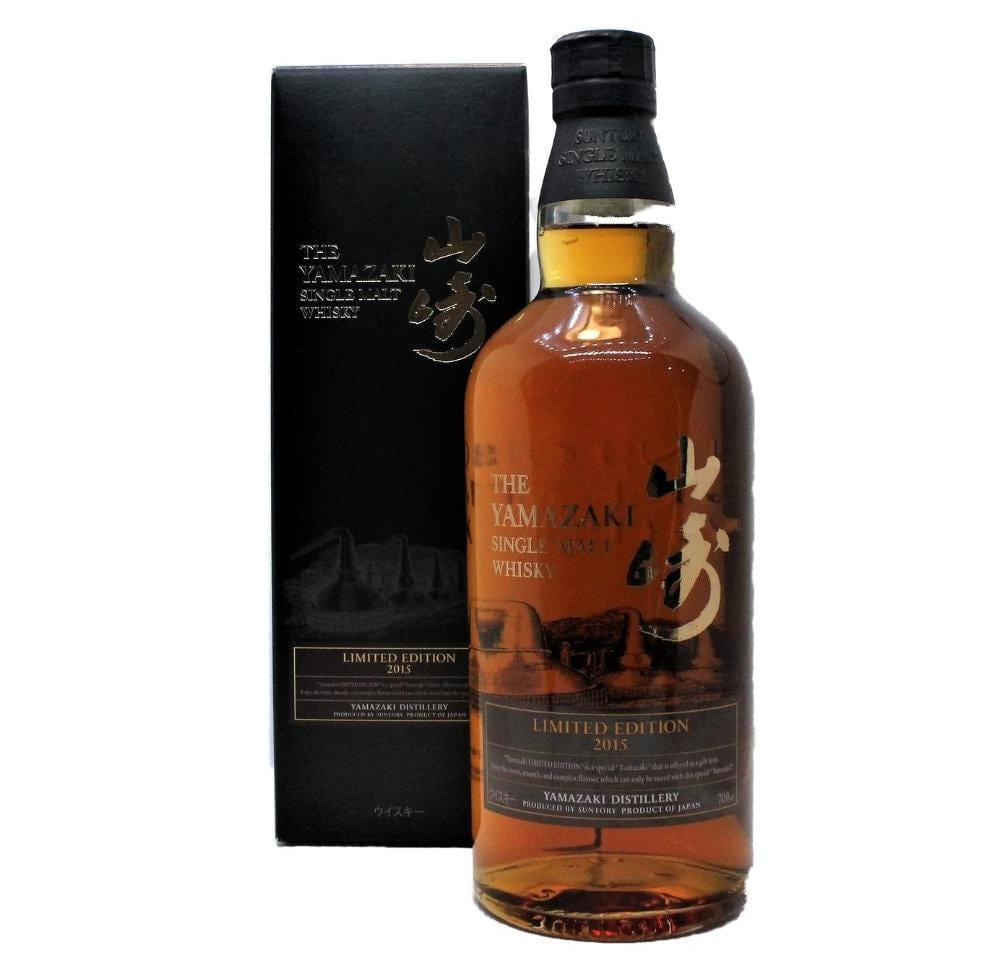 Yamazaki Limited Edition 2015 Japanese Single Malt Whisky