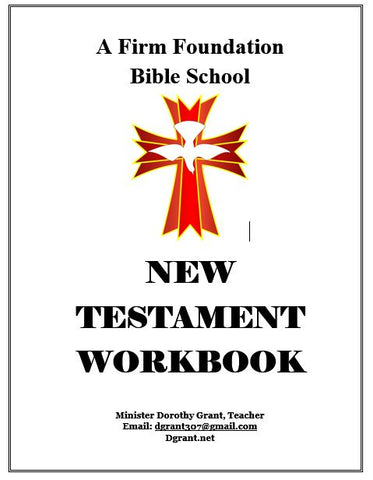New Testament Workbook
