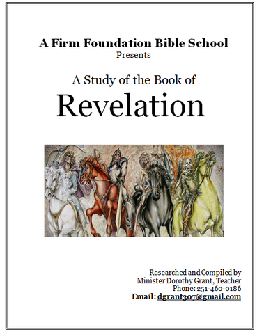 Book of Revelation Workbook