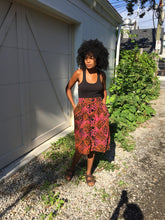 Load image into Gallery viewer, Limited Edition Batik AFUA Skirt