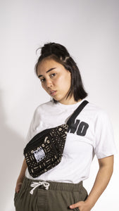 Black Limited Edition Malian Mudcloth Fannypack/ Bumbag