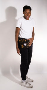 Brown Limited Edition Malian Mudcloth Fannypack/ Bumbag