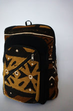 Load image into Gallery viewer, Brown Limited Edition Malian Mudcloth Backpack
