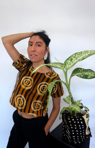 Limited Edition Batik KROBO Crop Top