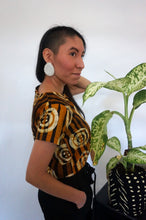 Load image into Gallery viewer, Limited Edition Batik KROBO Crop Top
