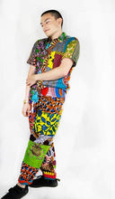 Unisex Patchwork Pants