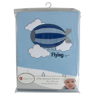 1 Pieces Baby Interlock Blanket
