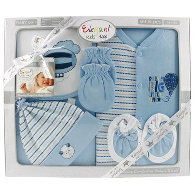 6 Pieces Baby Gift Set