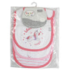 3 Pieces Baby Velcro Bib