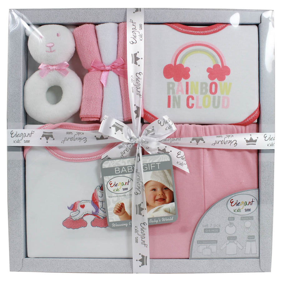 7 Pieces Baby Gift Set