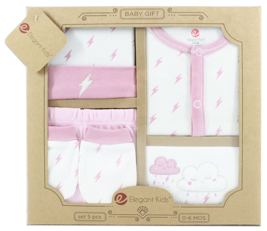5 Pieces Baby Gift Set