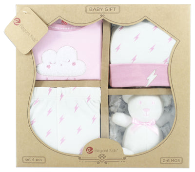 4 Pieces Baby Gift Set