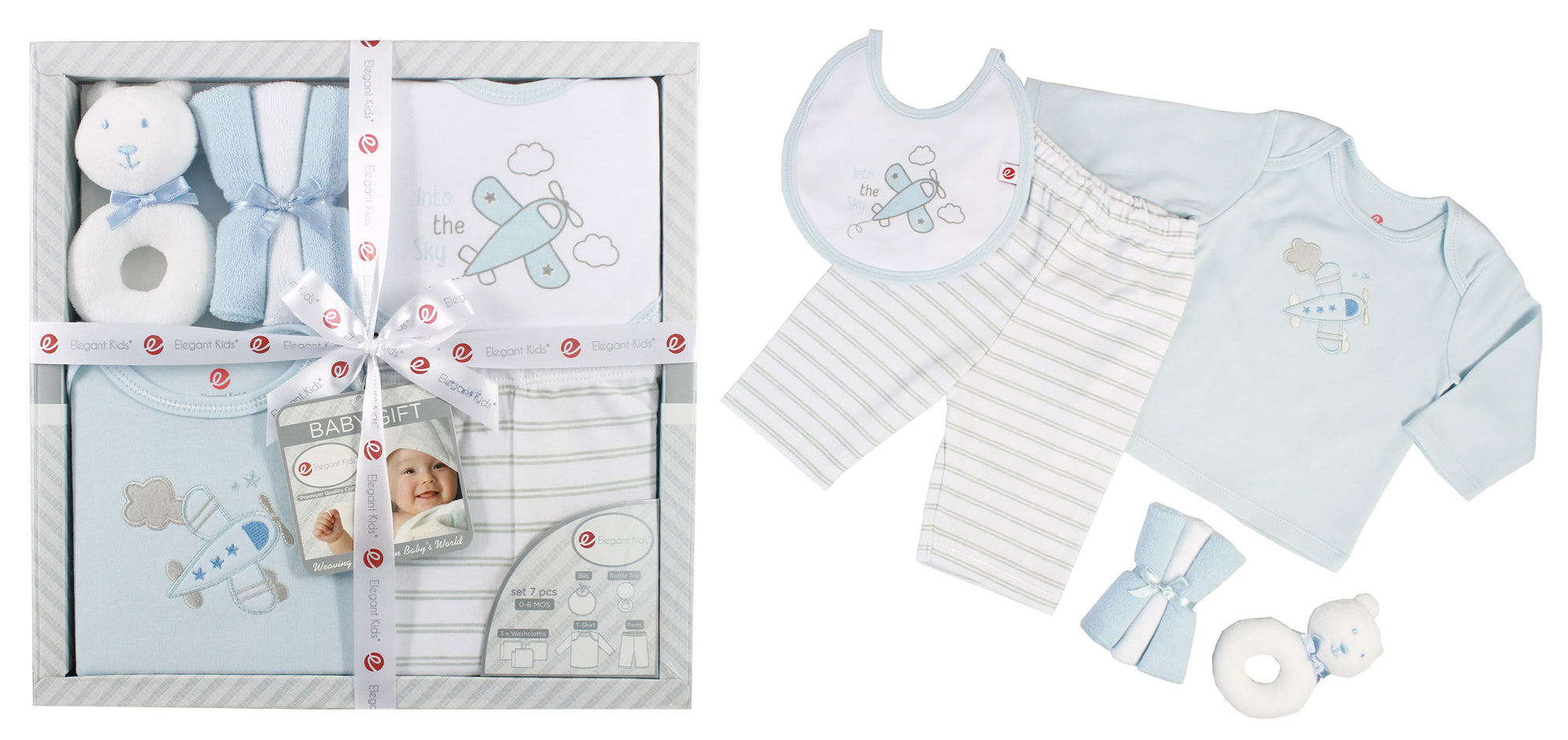First Ingets Gift Kids Set Set Baby Birth Baby Set Points Grey-Pink Baby Outfit 56-116; 4 tlg Size