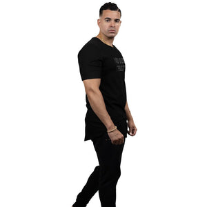 ATHLETE PREMIUM T-SHIRT- BLACK