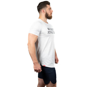 ATHLETE PREMIUM T-SHIRT - WHITE