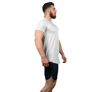 ATHLETE PREMIUM T-SHIRT - HEATHER GREY