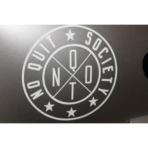"6"" Premium Outline. Decal - noquitsociety"