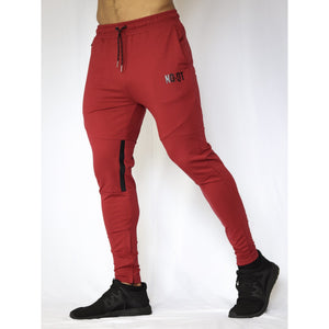 ELEVATE V1 JOGGERS - WINE RED