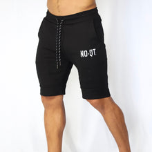 ICONIC FLEECE SHORTS -BLACK - noquitsociety
