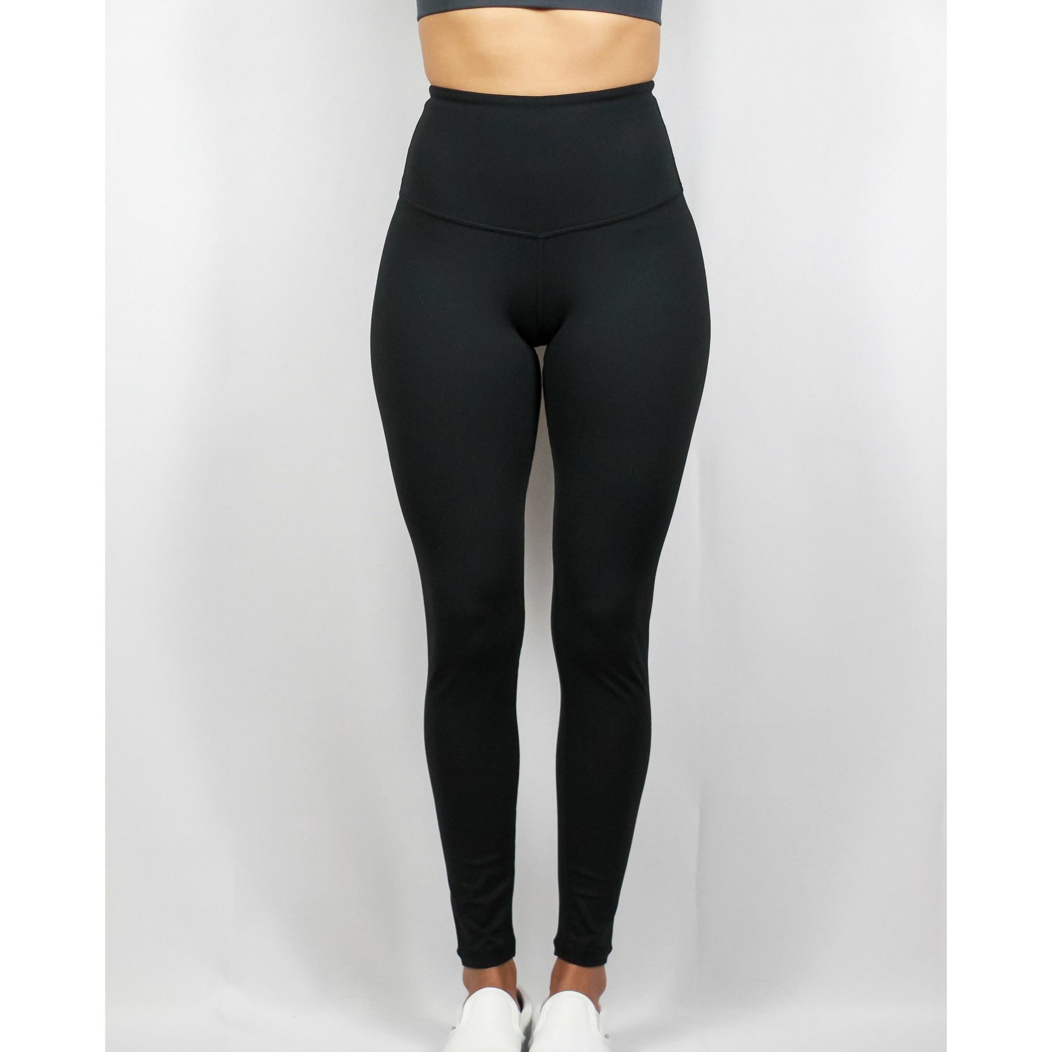 ASPIRE HIGH WAISTED LEGGINGS  V2- BLACK