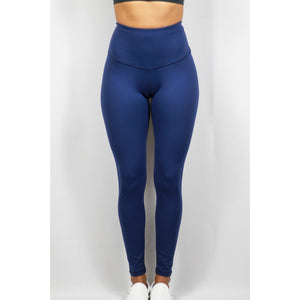 ASPIRE HIGH WAISTED LEGGINGS - MID NIGHT BLUE