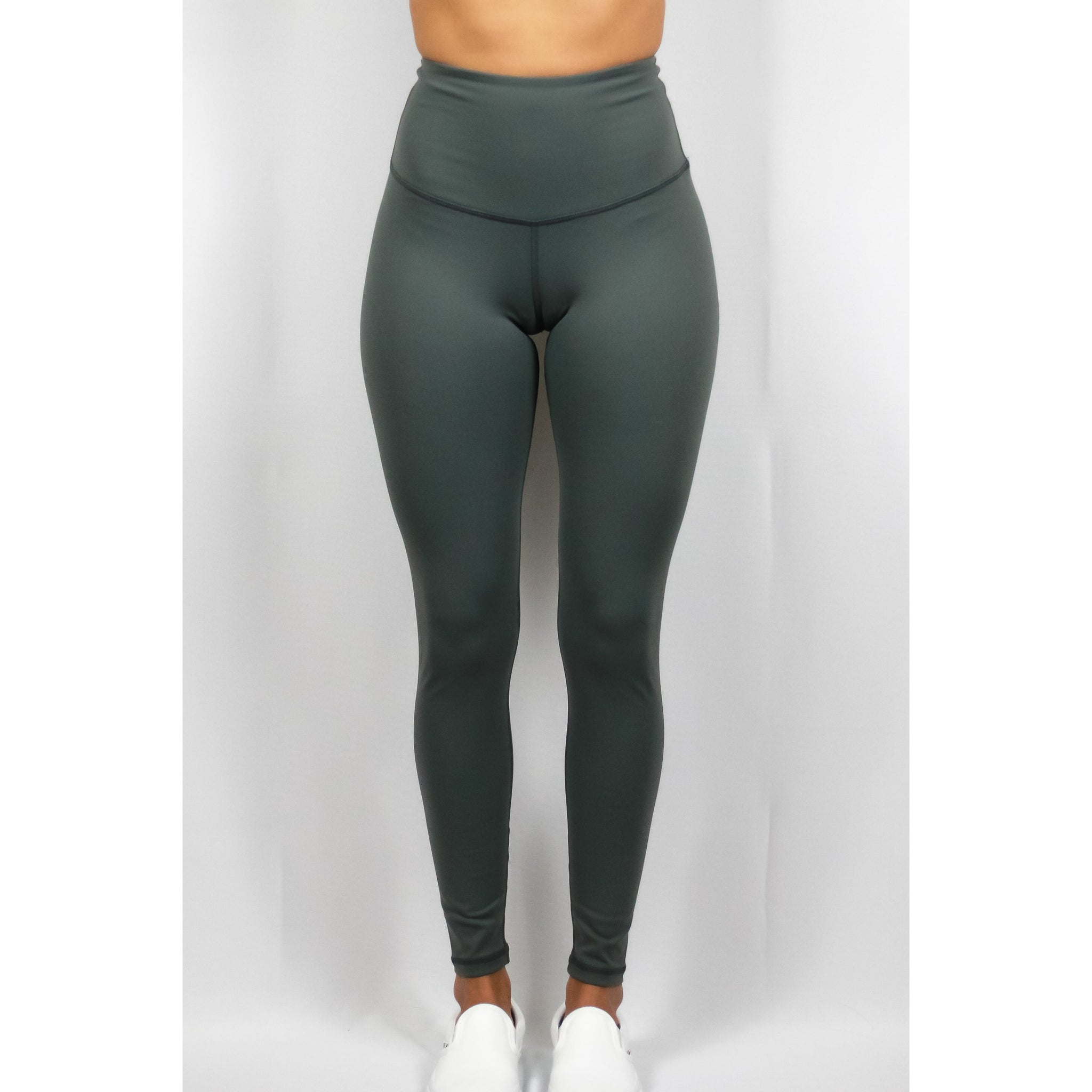 ASPIRE HIGH WAISTED LEGGINGS - CHARCOAL GREY