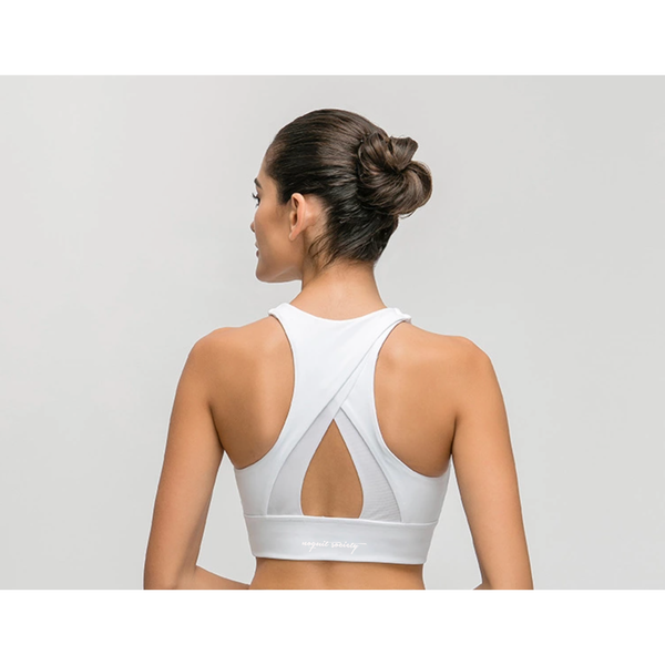 LIMITLESS SPORT BRA - PURE WHITE