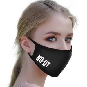 Tech Face Mask - (Black) - noquitsociety